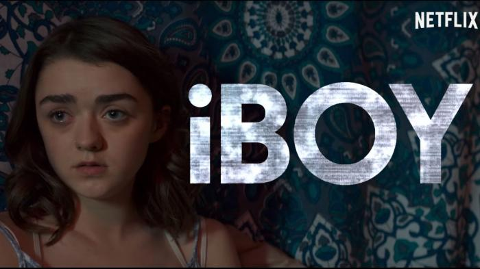 Captura de iBoy, la película de superhéroes de Netflix y Maisie Williams