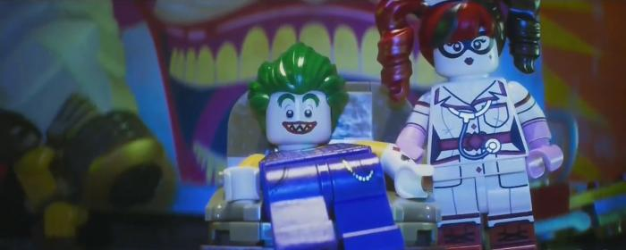 Captura de un spot de The LEGO Batman Movie (2017)