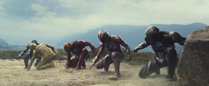 Captura del trailer de Power Rangers (2017)