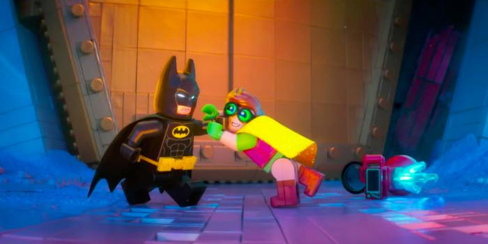 Captura del trailer de The LEGO Batman Movie (2017)