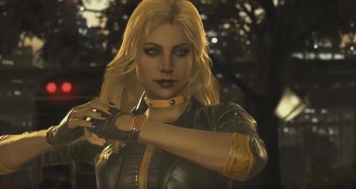 Black Canary se une a Injustice 2 (2017)
