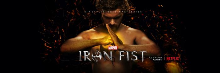 Banner de Marvels Iron Fist