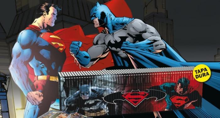 Imagen promocional del coleccionable Batman y Superman - Colección Novelas Gráfica