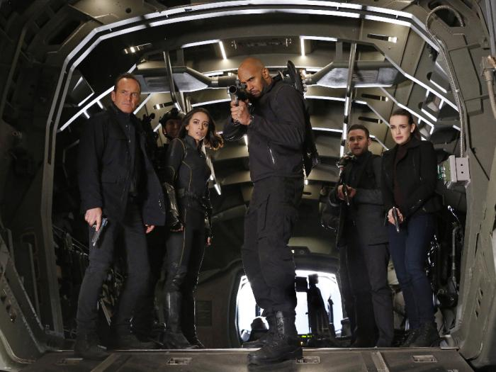 Imagen de Agentes de S.H.I.E.L.D. 4x14: The Man Behind the Shield