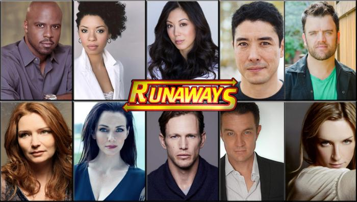 Marvel confirma el reparto de villanos de Runaways