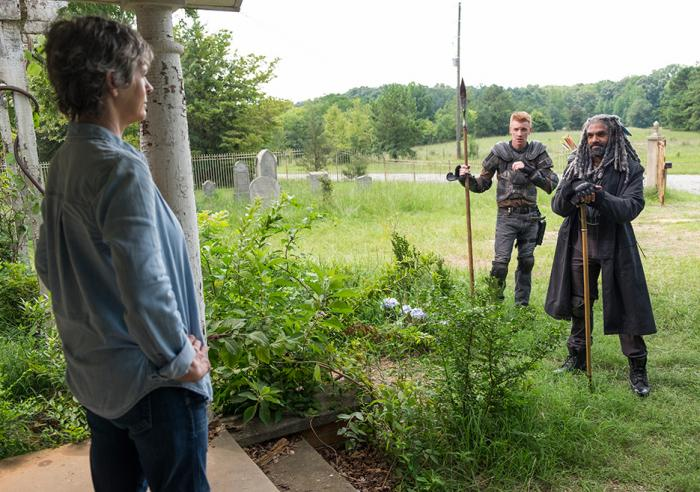 Imagen de The Walking Dead 7x10: New best friends
