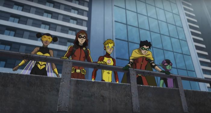 Captura del trailer de Teen Titans: The Judas Contract (2017)