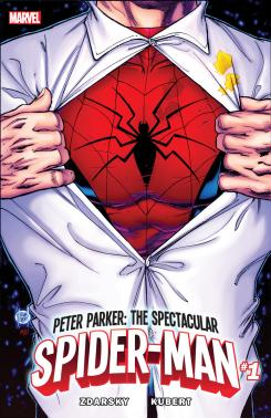Portada de Peter Parker: The Spectacular Spider-Man 1