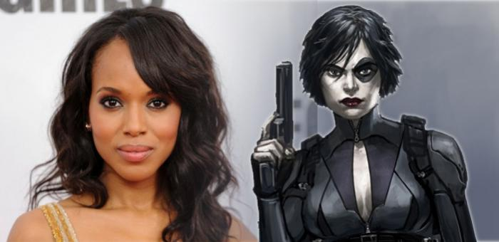 Kerry Washington rumoreada como Domino en Deadpool 2
