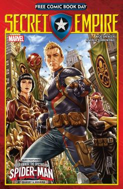 Portada de Secret Empire para el Free Comic Book Day