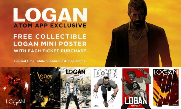 Pósters coleccionables de Logan (2017), por artistas de cómics