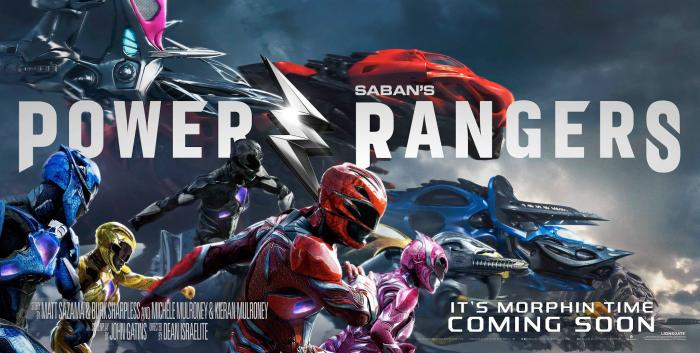 Póster de Power Rangers (2017)