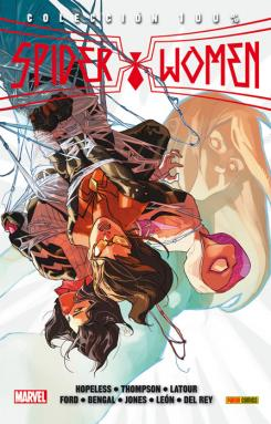 Portada del cómic español 100% Marvel. Spider Women