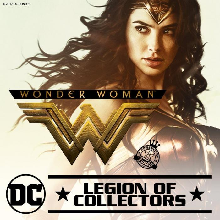Gal Gadot como Wonder Woman en Legion of Collectors