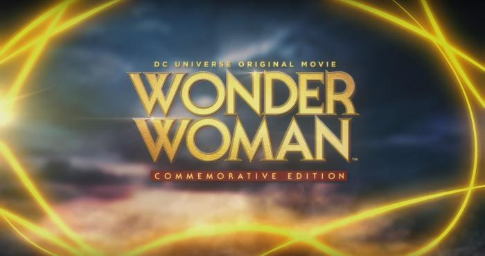 Logo de Wonder Woman: Commemorative Edition (2017), versión de Wonder Woman (2009)