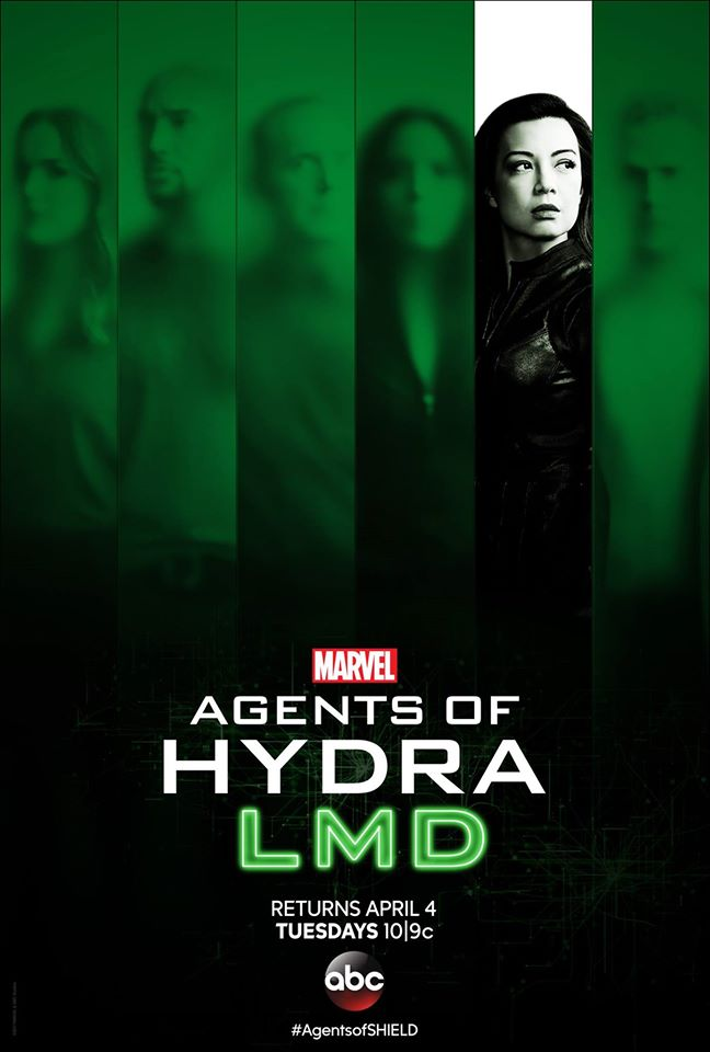 Póster de Agents of Hydra