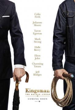 Póster de Kingsman: The Golden Circle (2017)