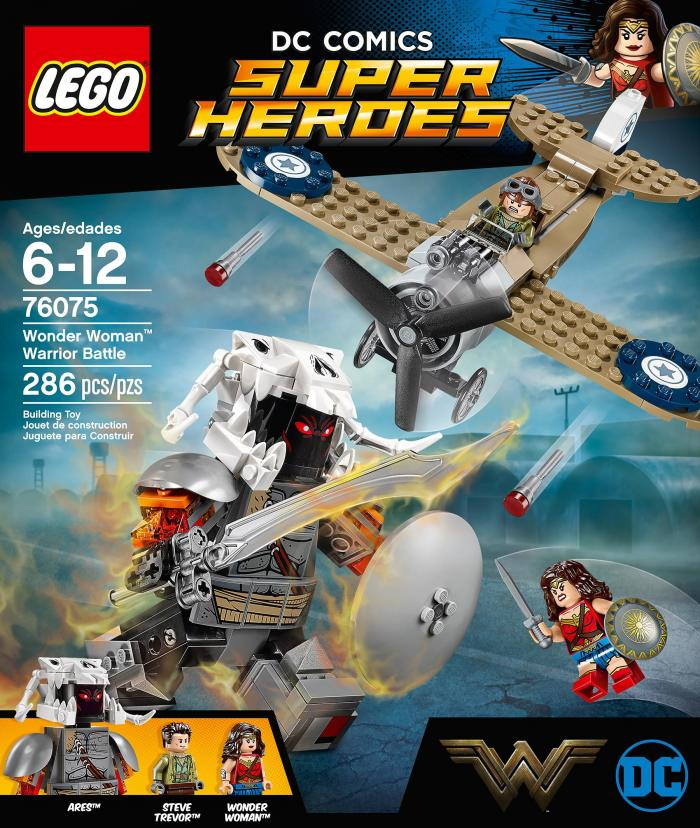 Set de LEGO de Wonder Woman con Ares (2017)