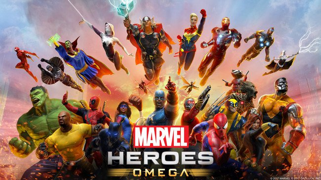 Anunciado Marvel Heroes Omega para PlayStation 4 y Xbox One