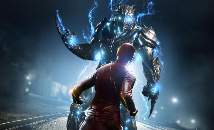 Póster de The Flash 3x19: The Once and Future Flash