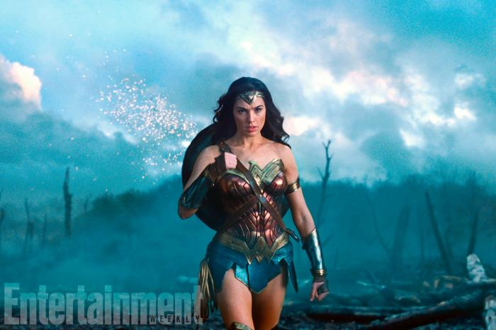 Imagen de Wonder Woman (2017) en Entertainment Weekly