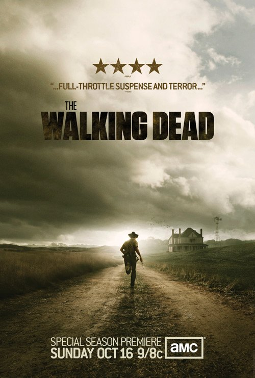 Póster de la segunda temporada de The Walking Dead