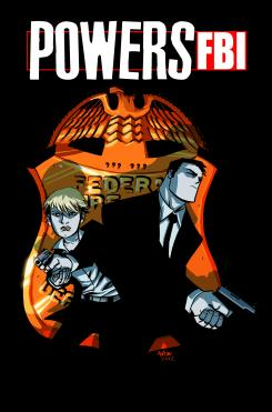 Portada del cómic Powers: FBI #1 (Julio 2012)