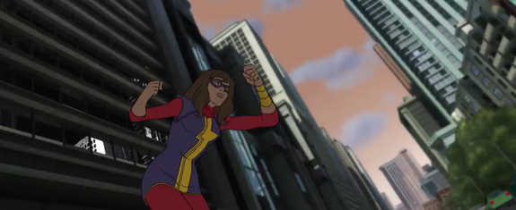 Ms. Marvel en Avengers: Secret Wars, la cuarta temporada de Avengers: Assemble