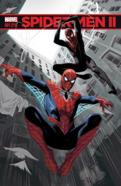 Portada del cómic Spider-Men II