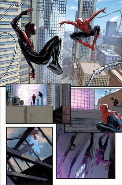 Interior al cómic Spider-Men II