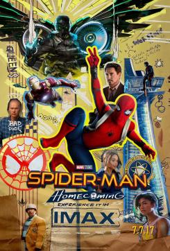 Póster IMAX de Spider-Man: Homecoming (2017)
