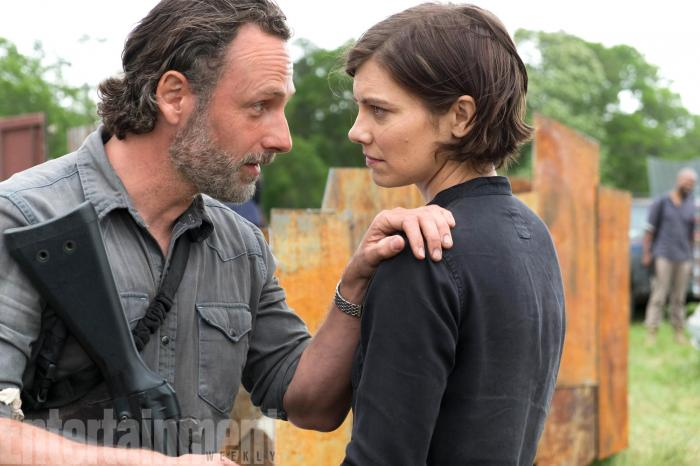 Imagen de la octava temporada de The Walking Dead (2010 - ?)