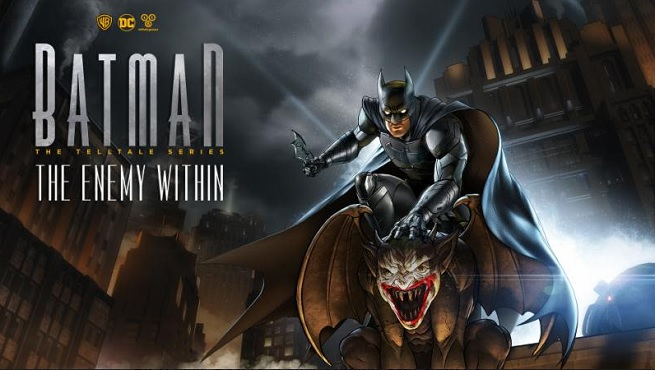 Imagen promocional de la segunda temporada de Batman The Telltale Series, titulada Batman: The Enemy Within