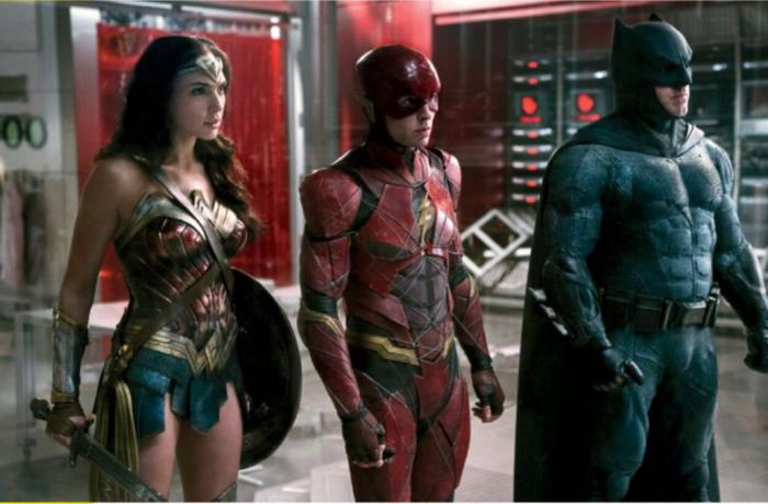 Imagen de Liga de la Justicia (2017), Wonder Woman, Flash y Batman