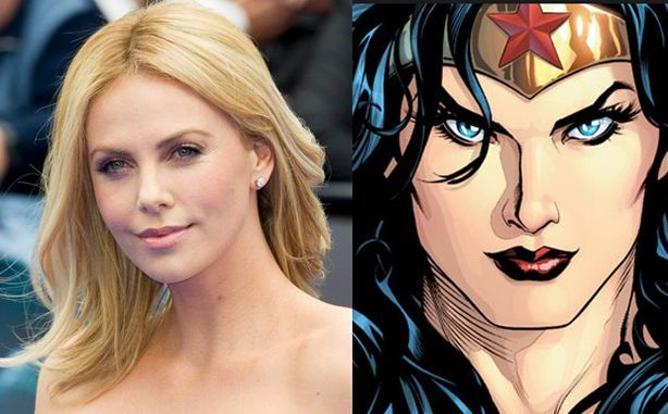 charlize wonder woman