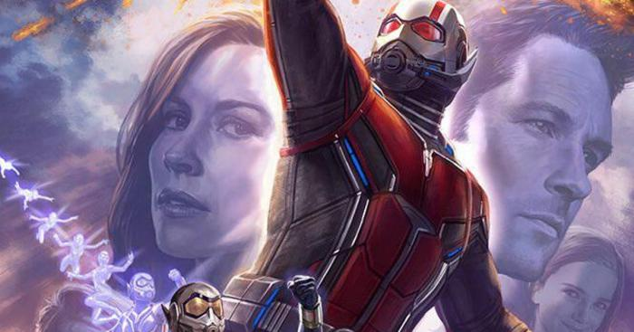 Recorte concept art de Ant-Man and the Wasp (2018), diseño por Andy Park