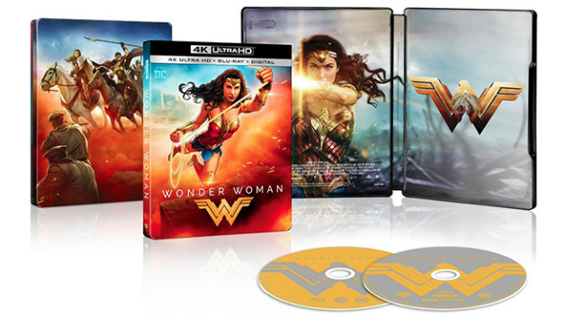 Aspecto de la edición 4K de Wonder Woman (2017)