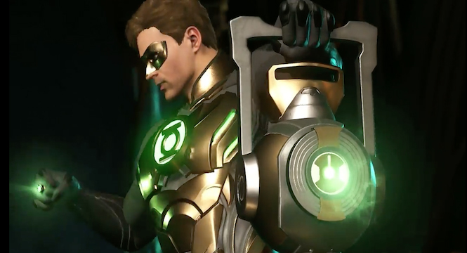 Green Lantern en Injustice 2 (2017)