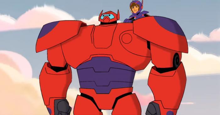Imagen de la serie de animación Big Hero 6