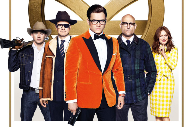 Recorte de póster oficial de Kingsman: The Golden Circle (2017)