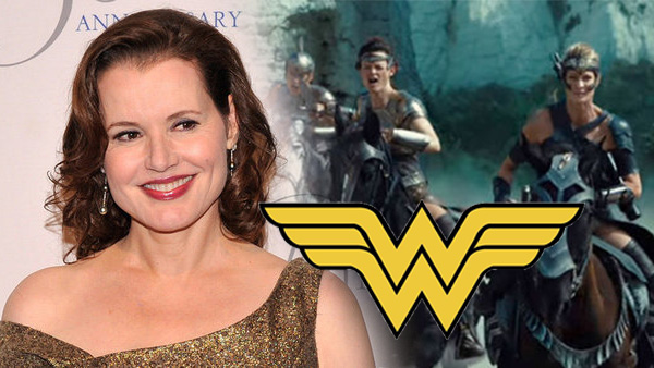 Geena Davis quiere estar en Wonder Woman 2 (2019)