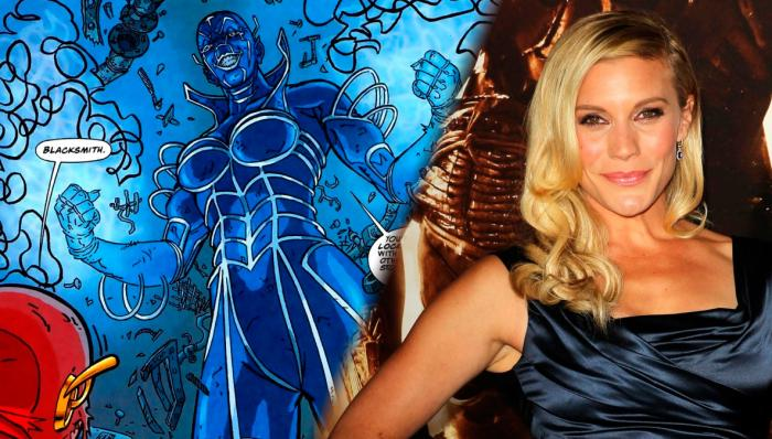Katee Sackhoff es Blacksmith en The Flash