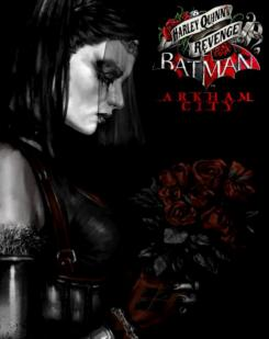 Concept art del videojuego Batman: Arkham City (2012), pack descargable Harley Quinn Revenge