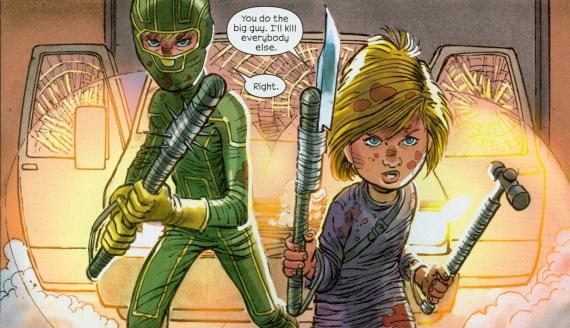 Imagen del interior del americano Kick-Ass 2 #7