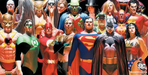 Superhéroes de DC Cómics, por Alex Ross