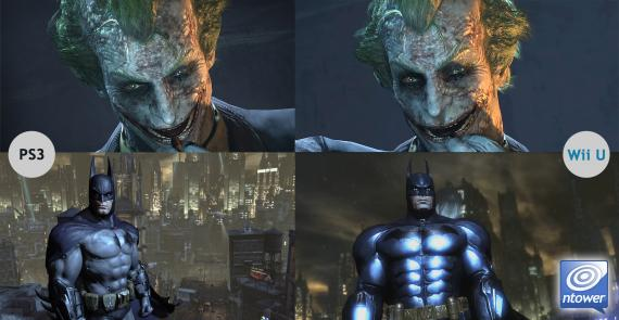 Comparación Batman Arkham CIty en PlayStation 3 y Wii U