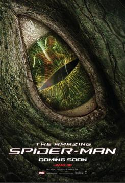 Póster del Lagarto en The Amazing Spider-Man (2012)