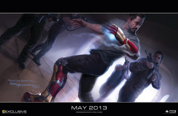 Concept art de Iron Man 3 (2013)
