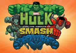 Imagen promocional de la serie Hulk and the Agents of S.M.A.S.H.