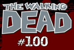 Walking dead 100 logo
